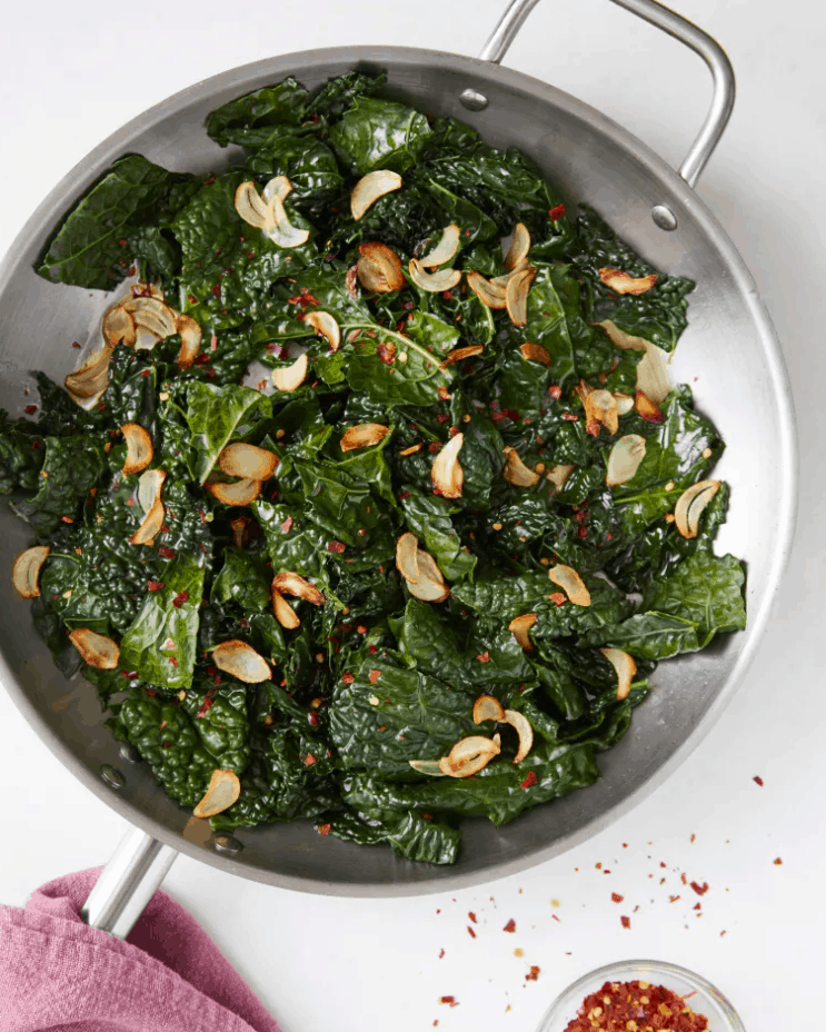 Citrusy Skillet Kale