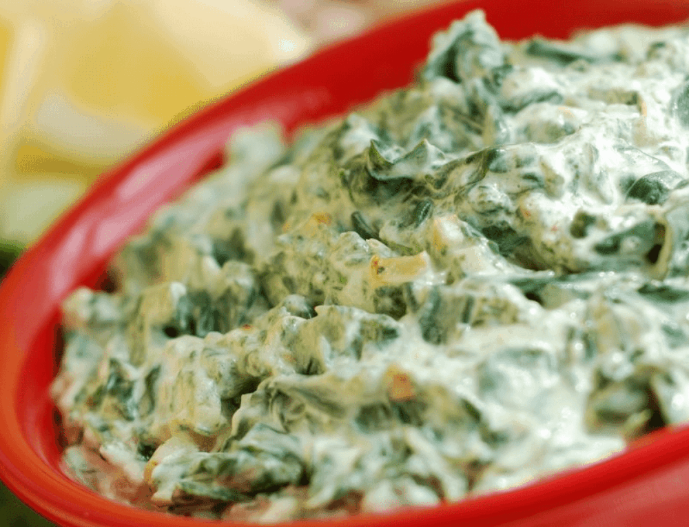 Dip of Spinach and Artichoke
