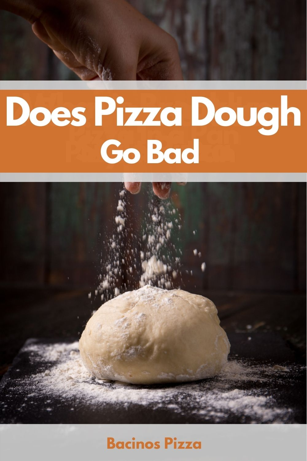 Does Pizza Dough Go Bad pin