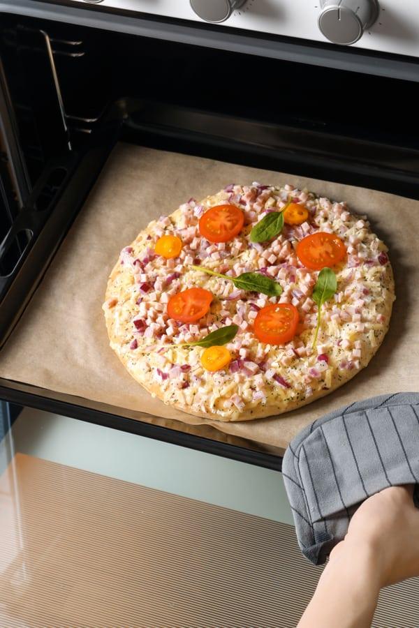 Domestic Pizza Oven Temperature