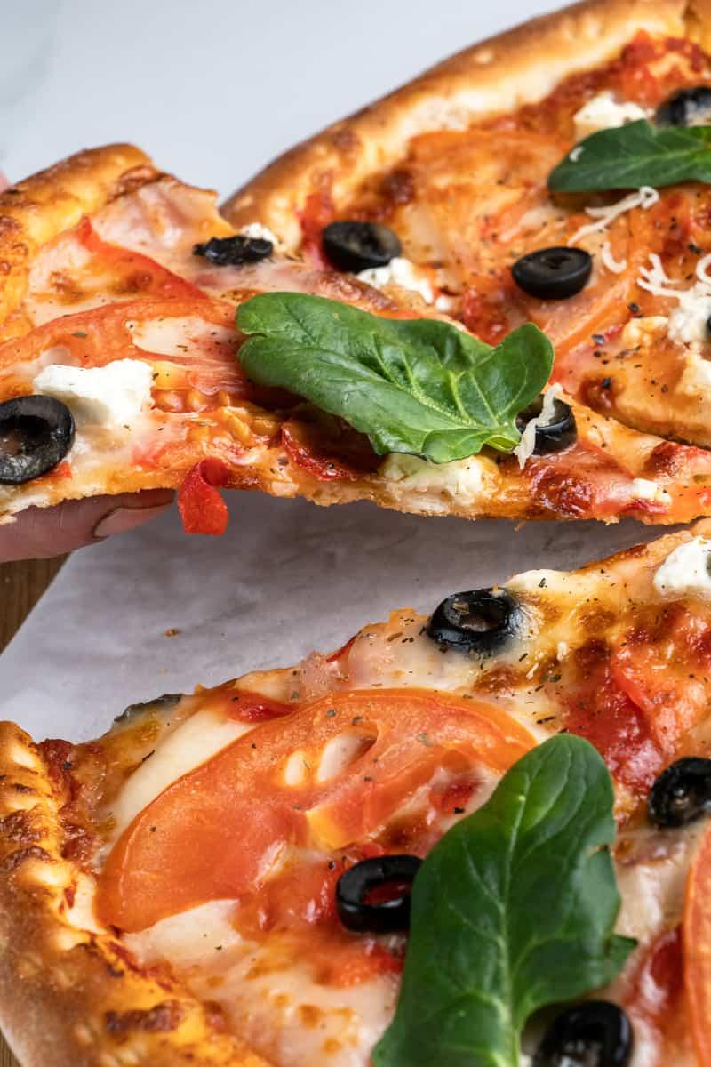 Domino's Spinach & Feta Pizza
