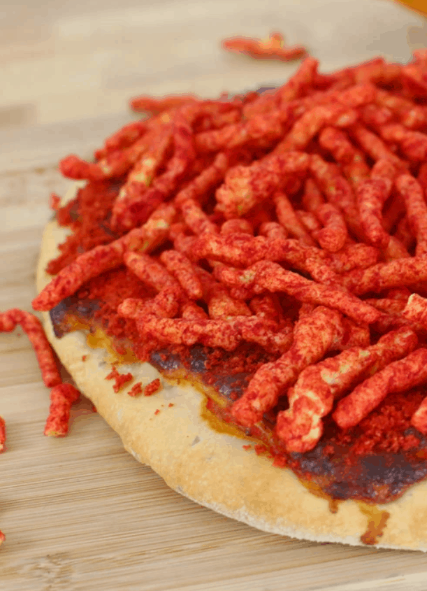 Eat The Pizza! Hot Cheetos Pizza