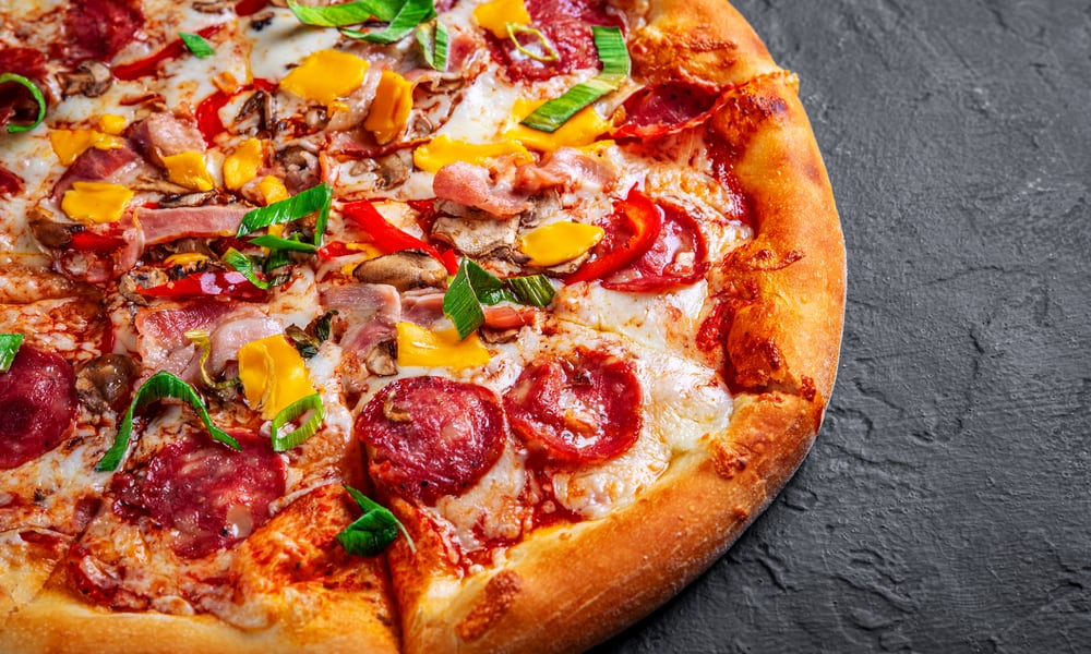 ExtravaganZZa Feast Pizza