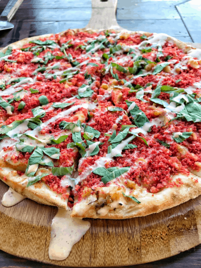 Food Network Hot Cheeto Pizza