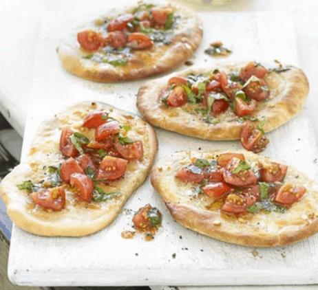 Garlic Bread Pizzas