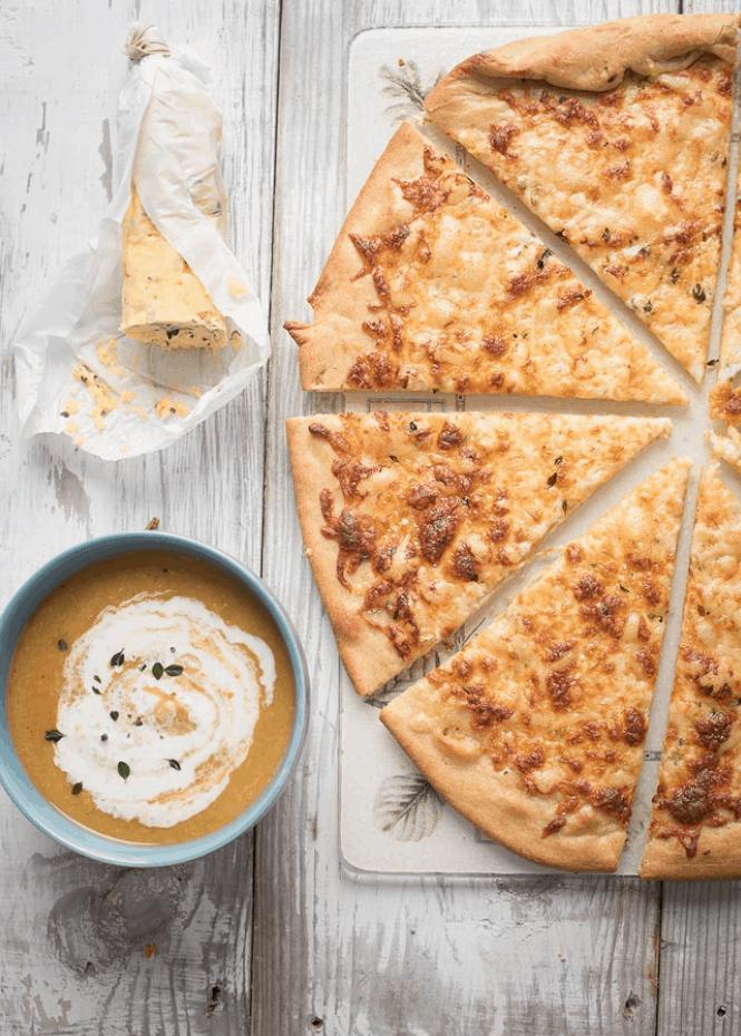 Garlic Butter Pizza