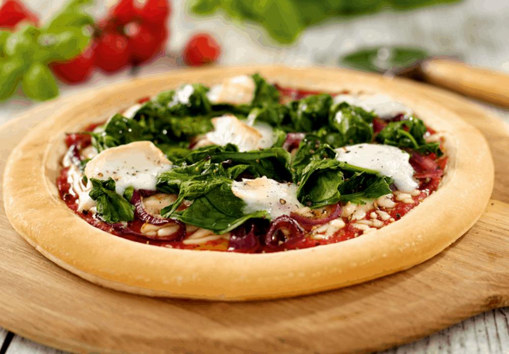 Gluten-Free Heaven's Gluten-Free Goat's Cheese Pizza