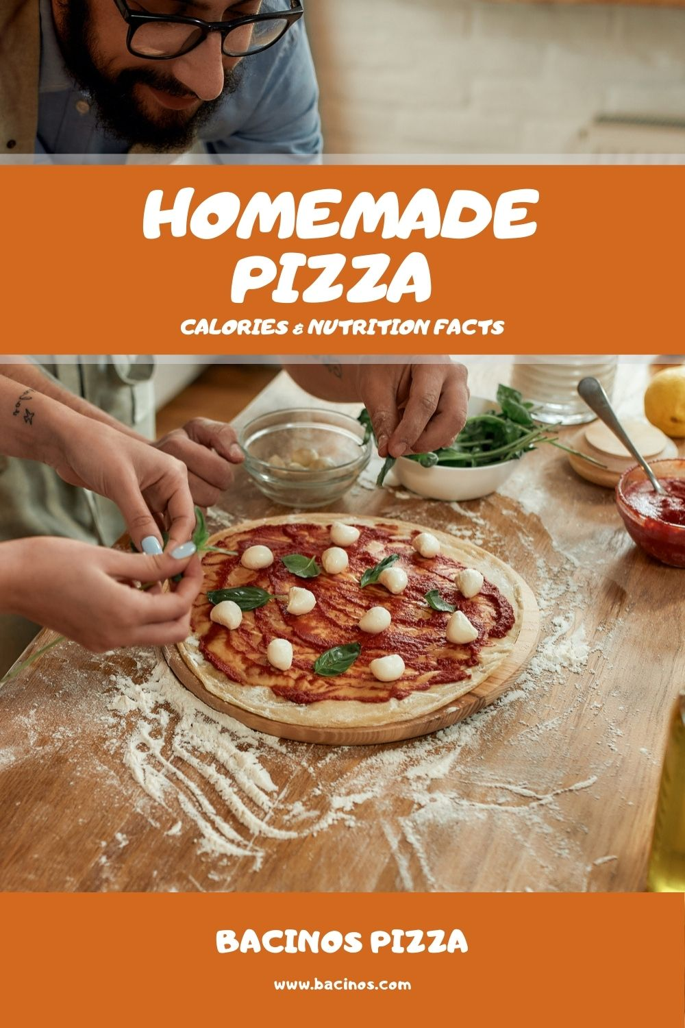 Homemade Pizza Calories & Nutrition Facts (Chart) 2