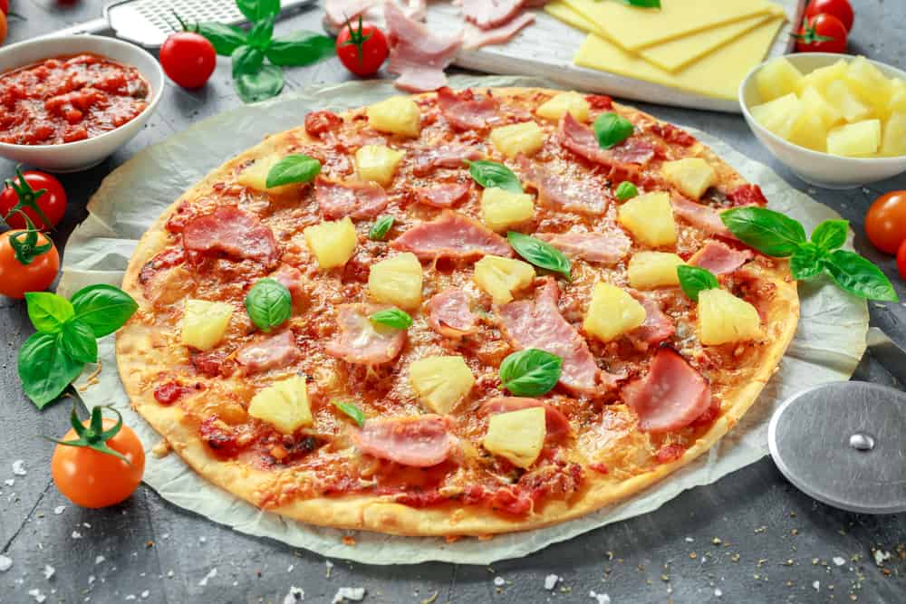 Homemade Pizza Calories and Nutrition