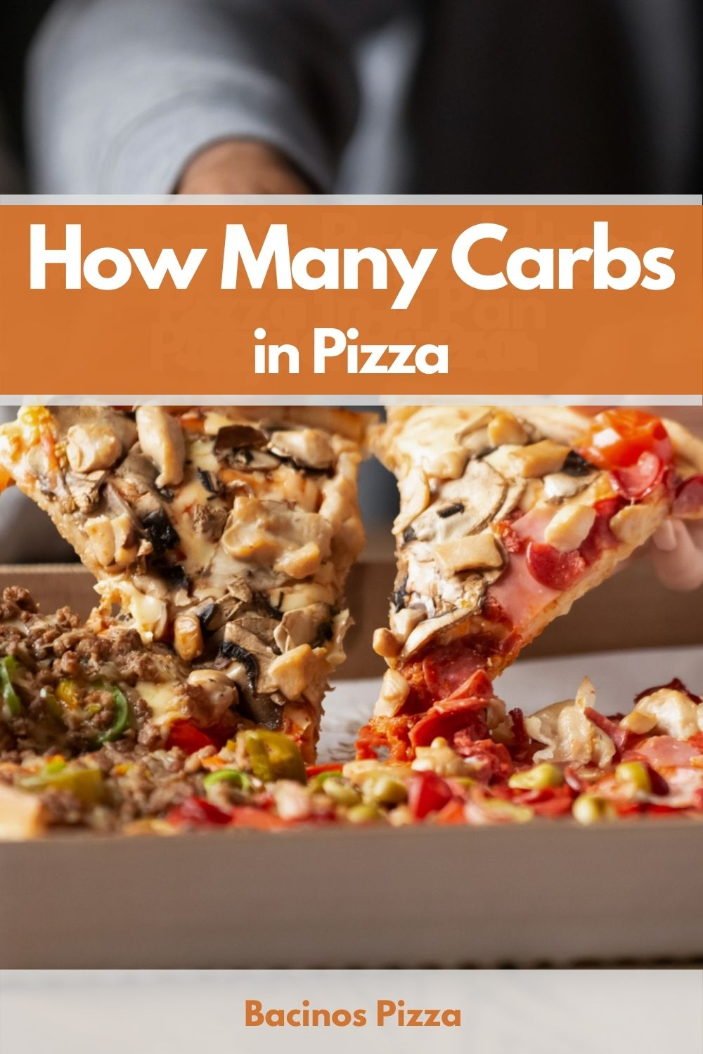 How Many Carbs in Pizza pin