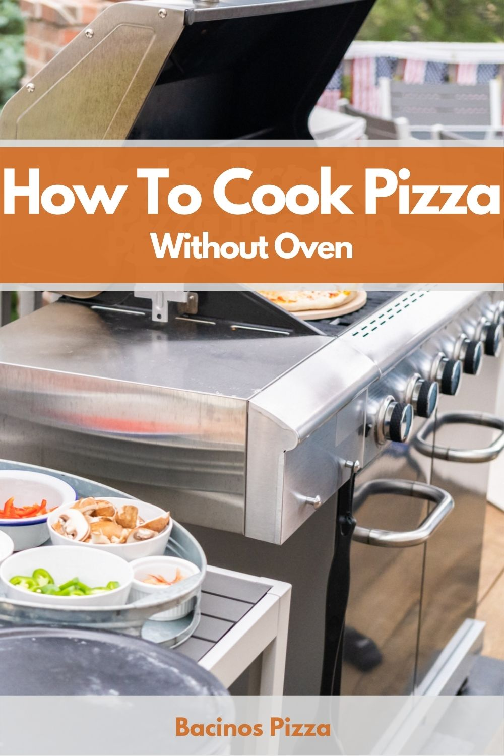 How To Cook Pizza Without Oven pin