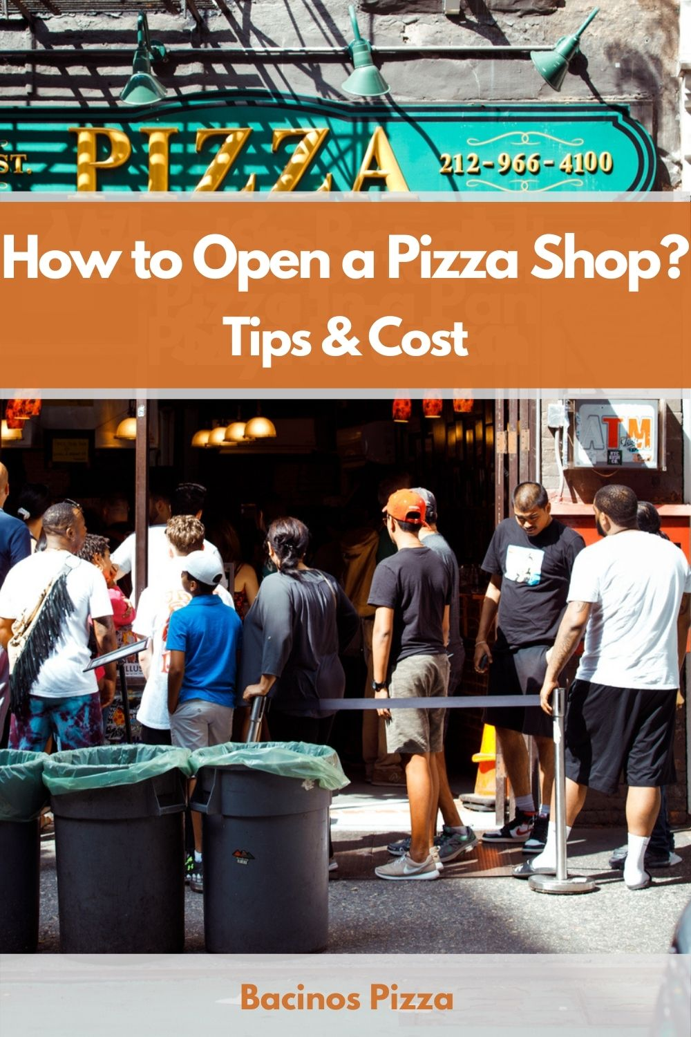 How to Open a Pizza Shop pin