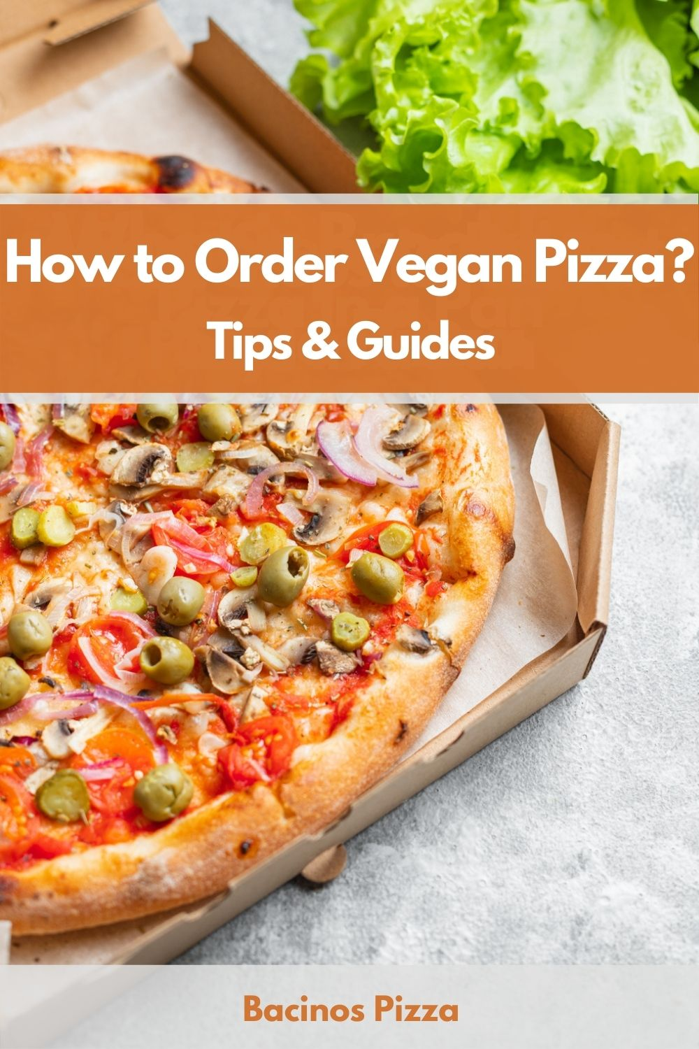 How to Order Vegan Pizza pin