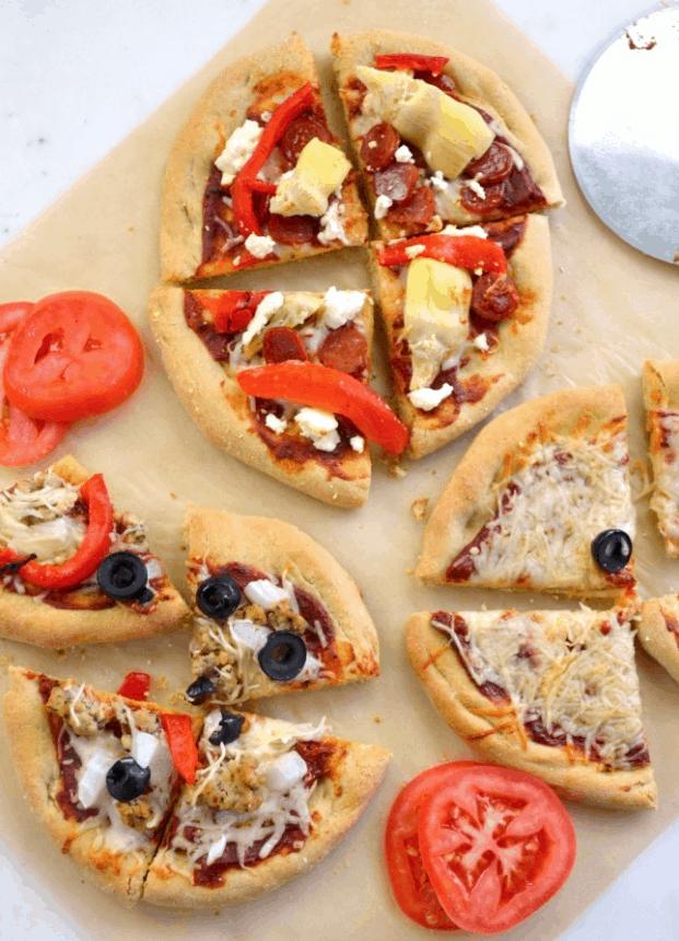 Individual Homemade Pizza & Pizza Bar Idea – An Oregon Cottage