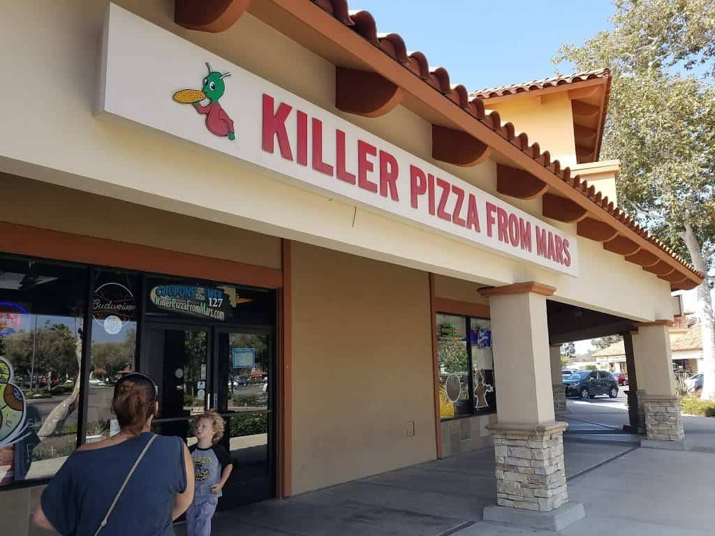 Killer Pizza From Mars – Oceanside