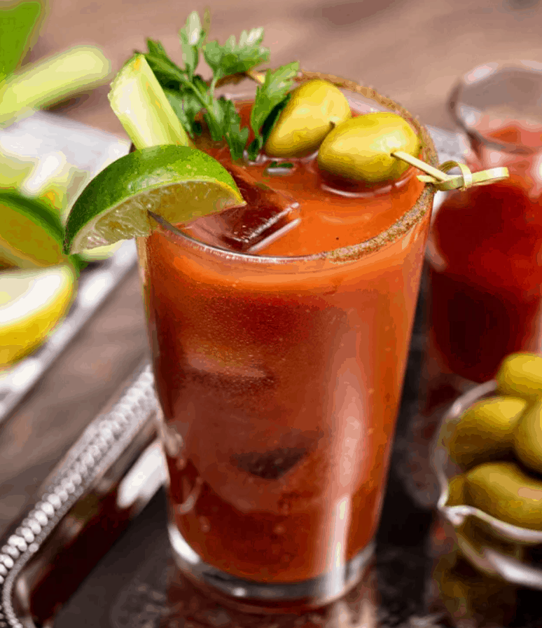 Leftover Pizza Sauce Bloody Mary