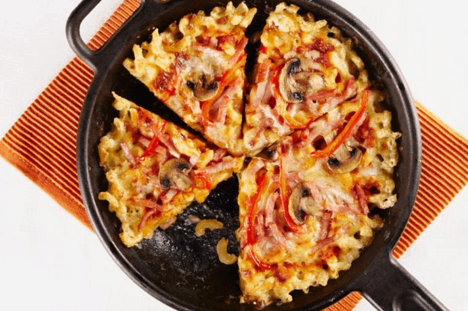 Mac & Cheese Pizza – Canadian Goodness