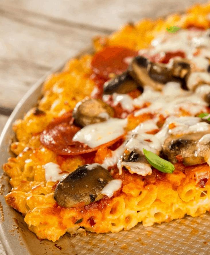 Mac and Cheese Crusted Pizza Recipe – MyRecipes