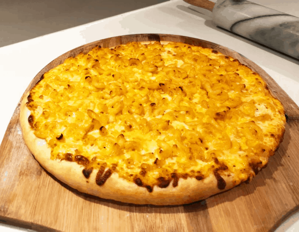 Macaroni and Cheese Pizza Recipe – Weird Wild Pizza