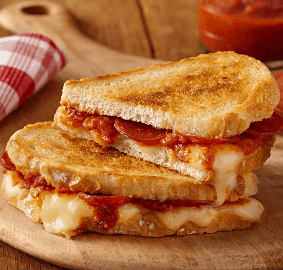 McCormick Pizza Grilled Cheese