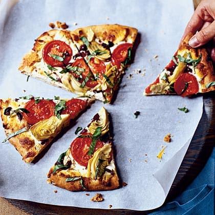 Monica Bhide's Mediterranean Pizza