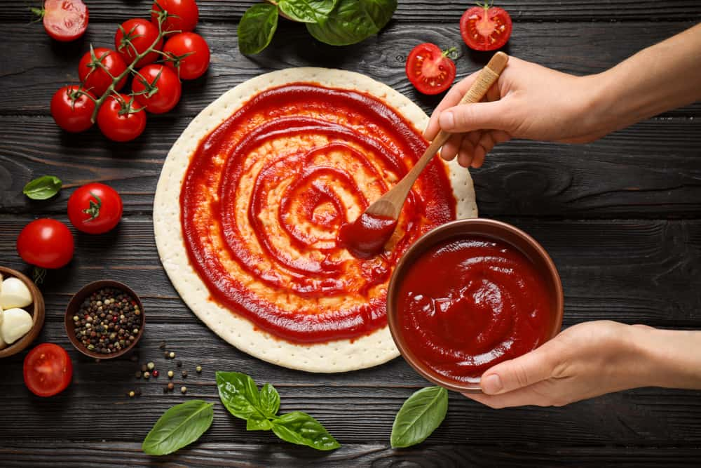 Opt for tomato sauce