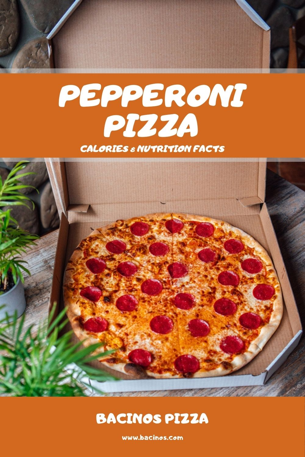 Pepperoni Pizza Calories & Nutrition Facts (Chart) 1