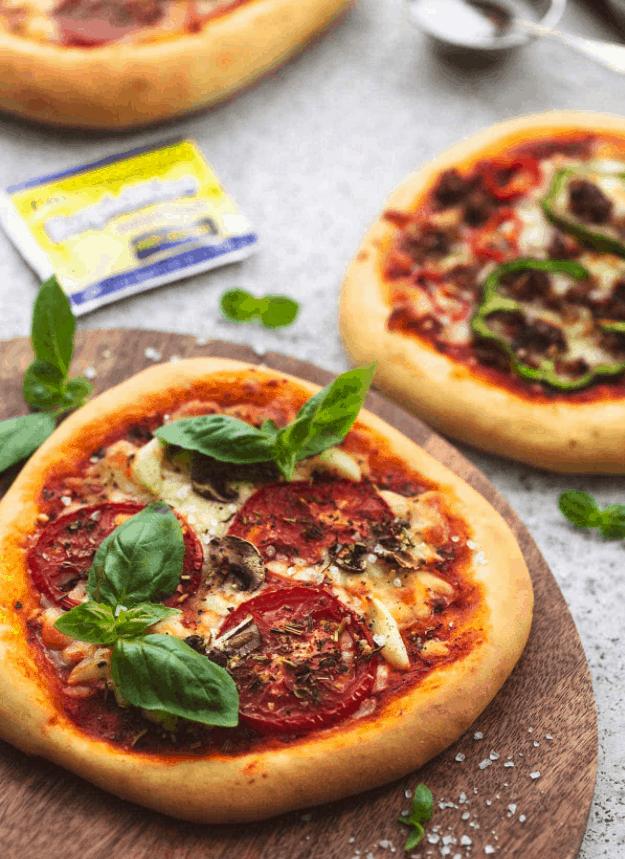 Personal Pizzas – Creme De La Crumb