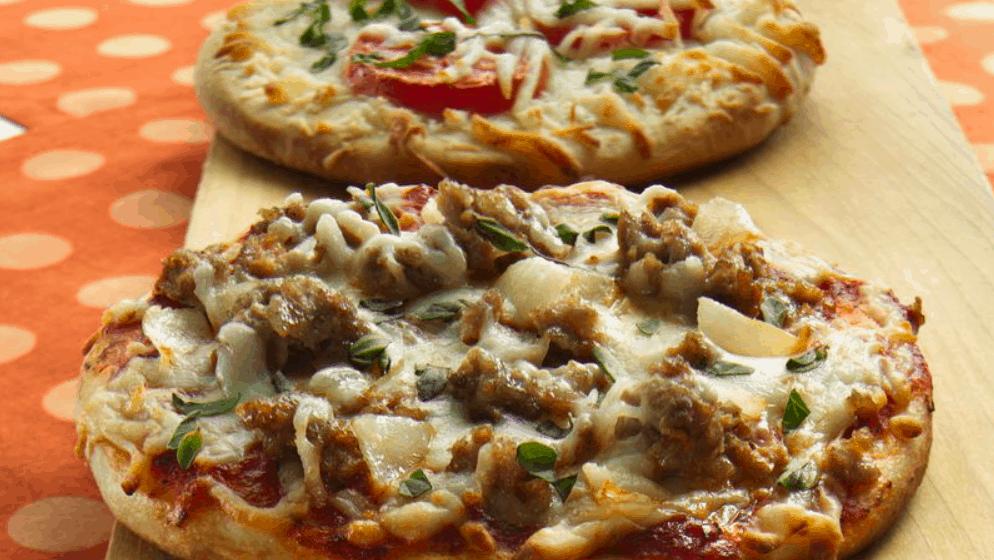 Personalized Individual Pizzas Recipe – Pillsbury.com