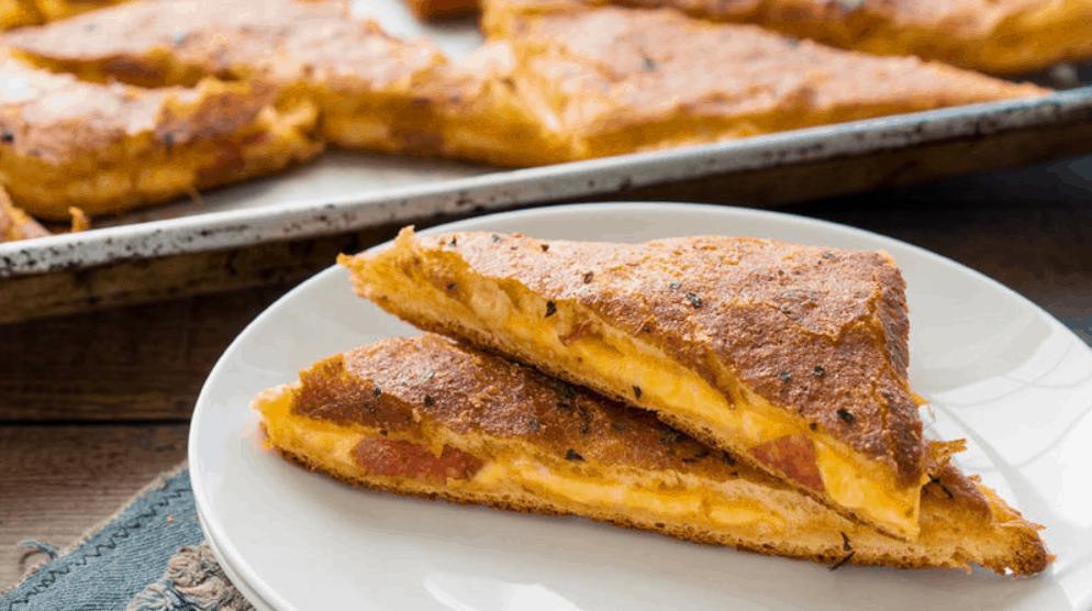 Pillsbury Pizza Grilled Cheese