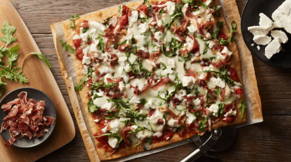 Pillsbury's Prosciutto and Goat Cheese Pizza
