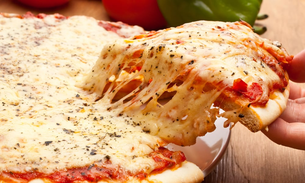 Pizza Hut Cheese Pizzas