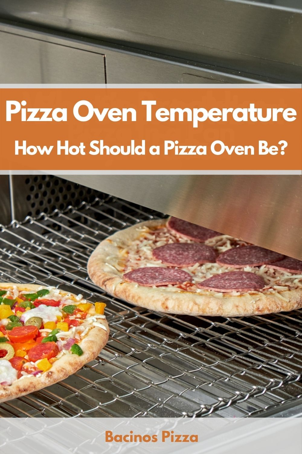 Pizza Oven Temperature How Hot Should a Pizza Oven Be pin 2