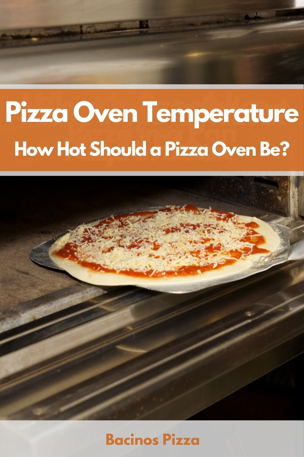 Pizza Oven Temperature How Hot Should a Pizza Oven Be pin