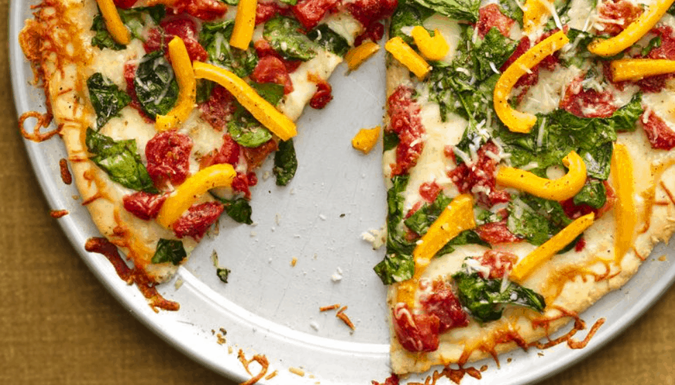 Skinny Homemade Pizza
