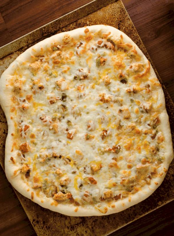 Stuffed Chicken Fajita Pizza