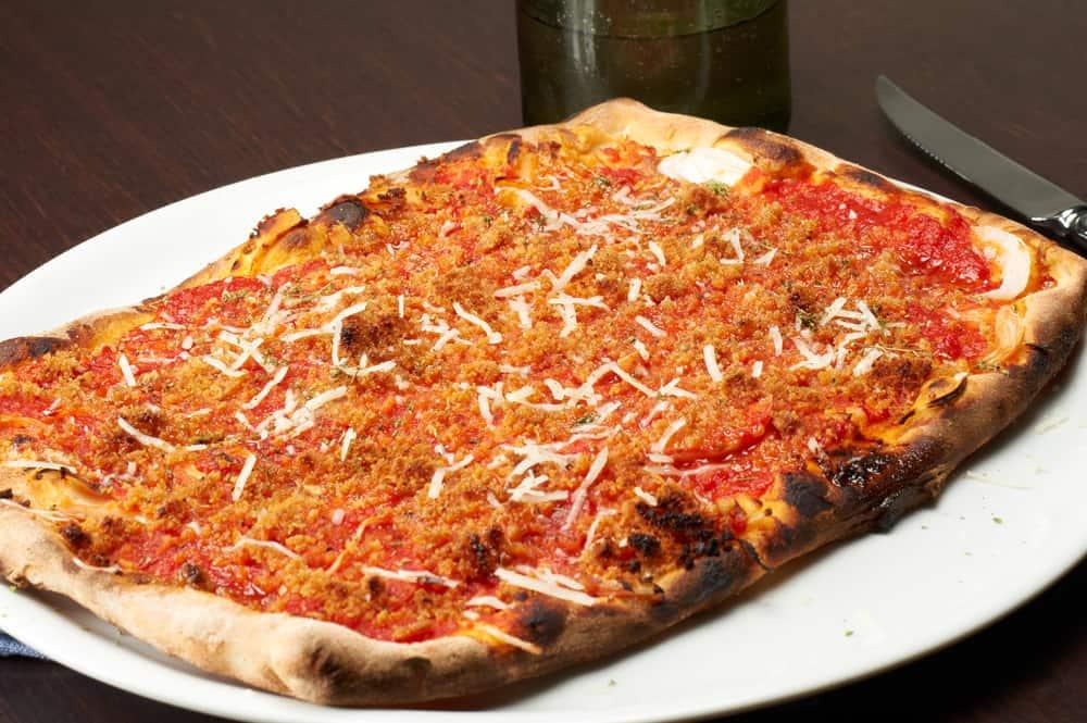 The American take on Sicilian pizza
