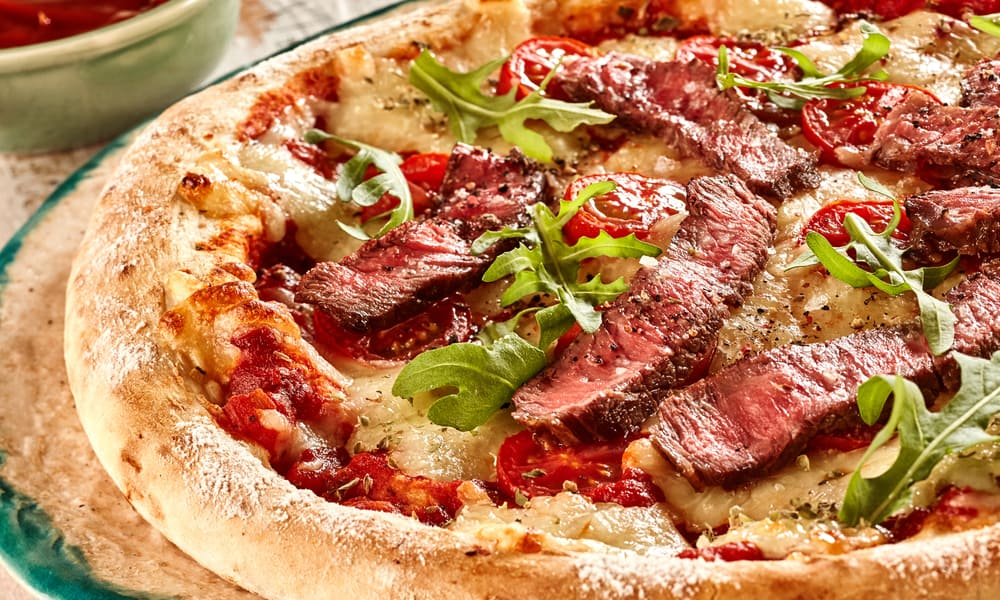 The Philly Steak Pizza