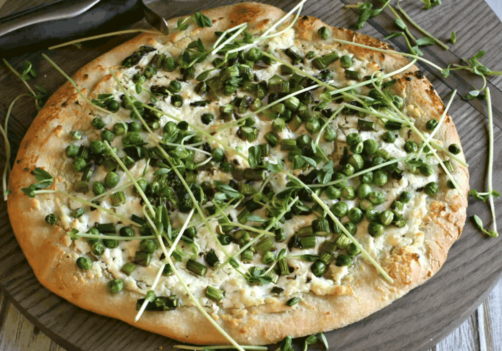 The Spruce eats Goat Cheese Pizza