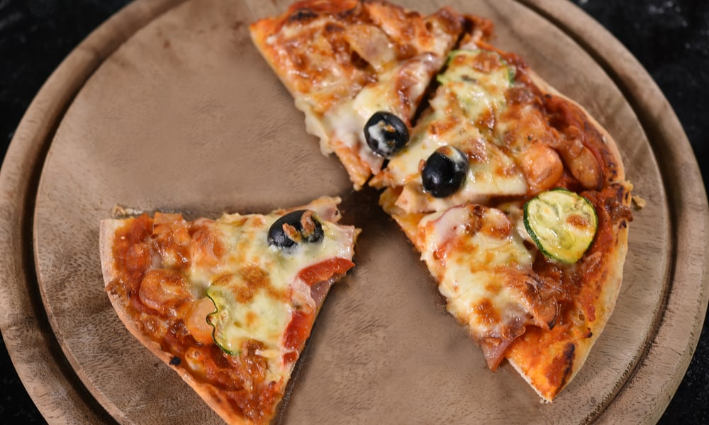 The all-natural pizza