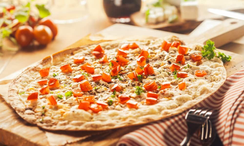 Thin Crust Pizza Nutrition