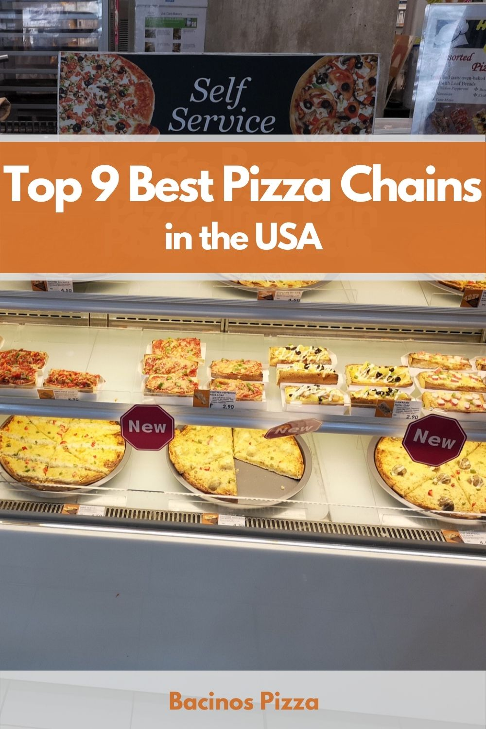 Top 9 Best Pizza Chains in the USA pin
