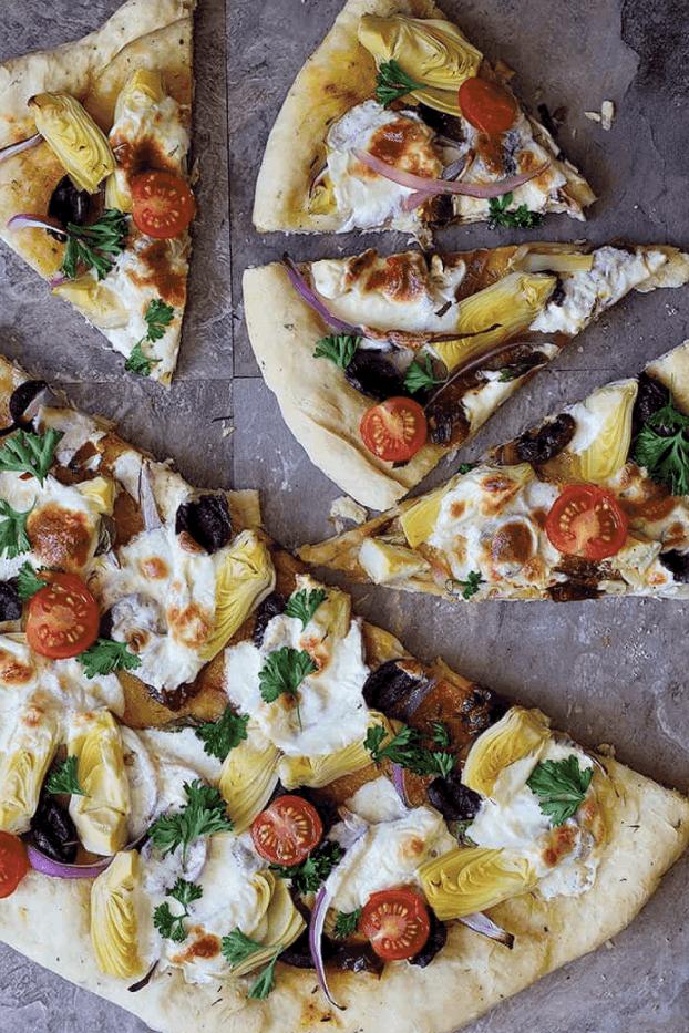 Unicorns Mediterranean Pizza