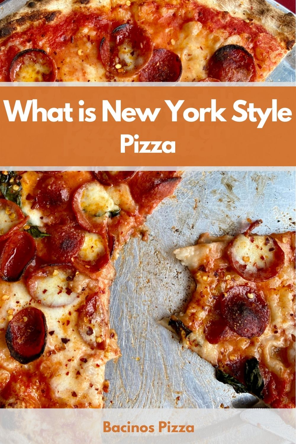 What is New York Style Pizza pin