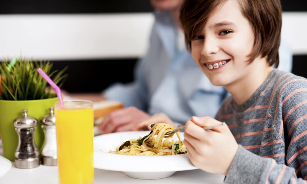 Why worry about what you can eat with braces