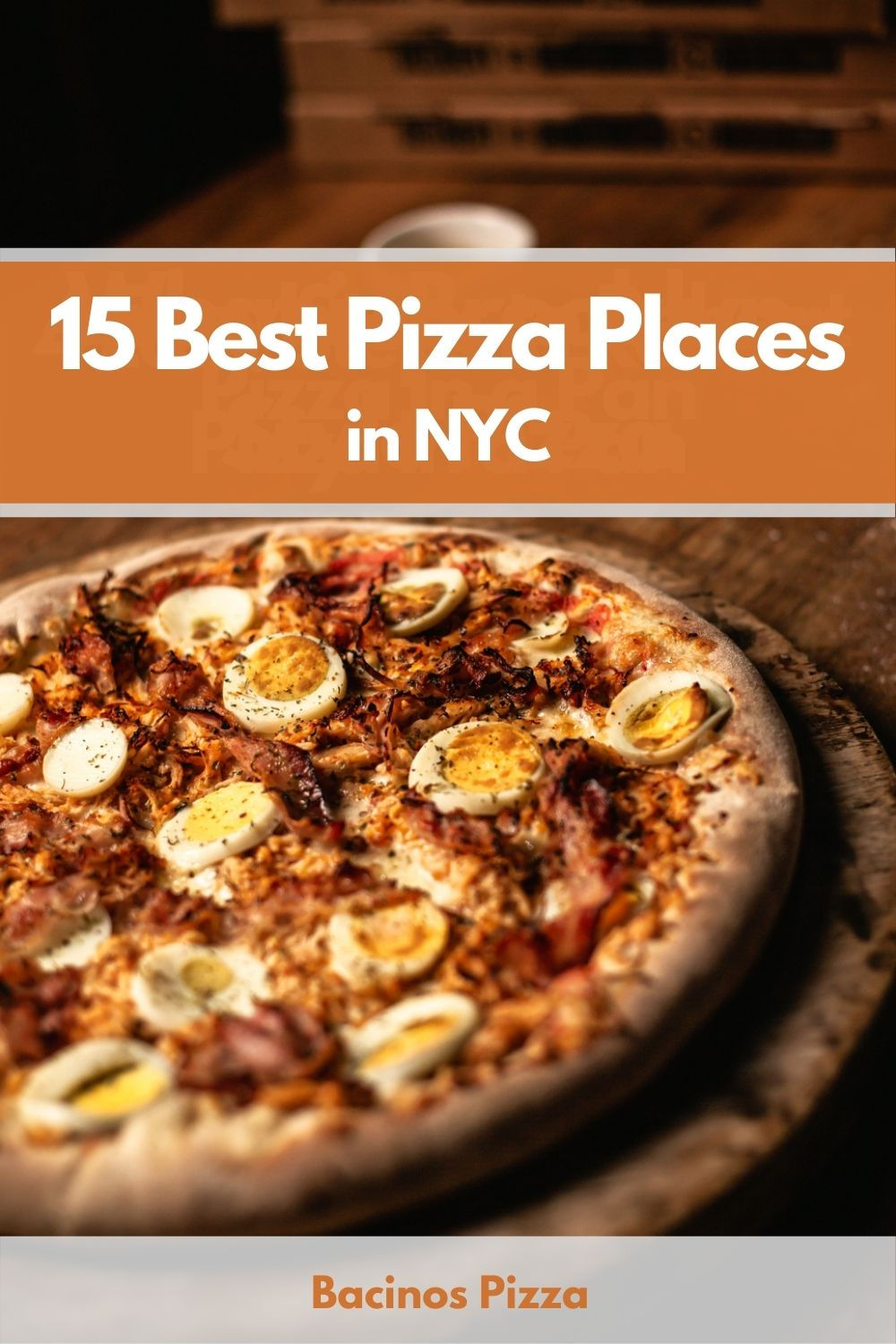 15 Best Pizza Places in NYC pin