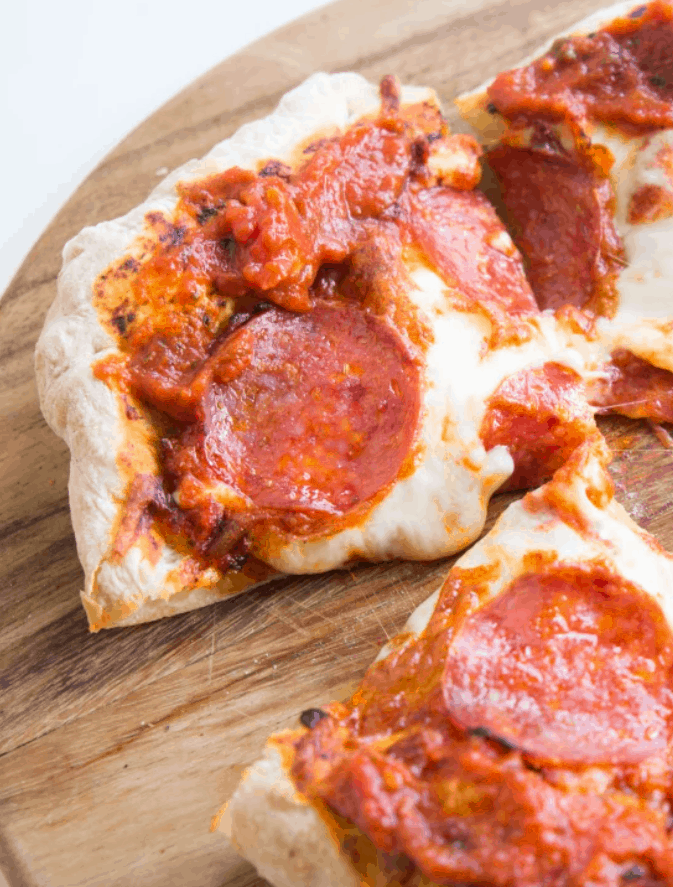Air Fryer Pepperoni Pizza – Mealthy.com