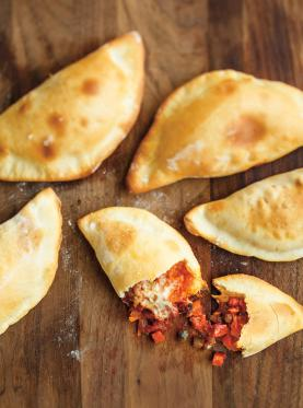 All-Dressed Pizza Pockets