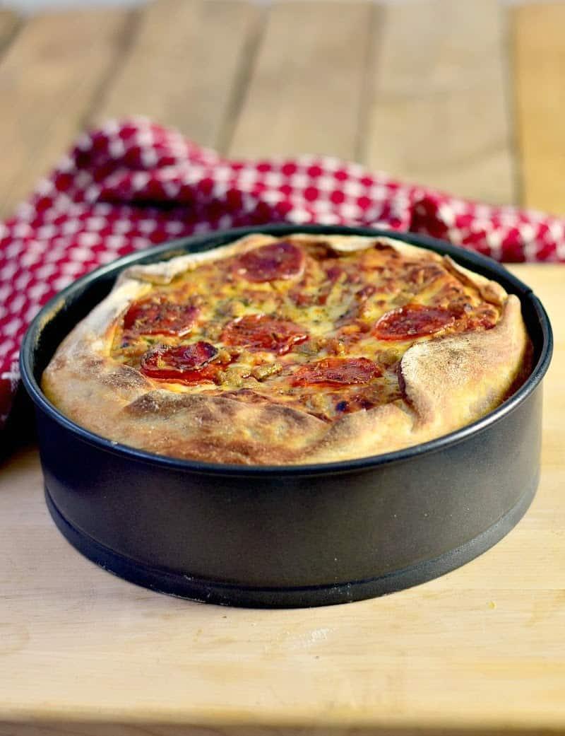 BKK Pizza Cake