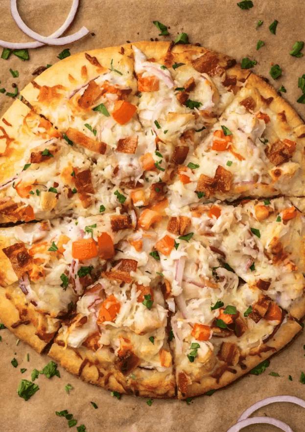 Chicken Bacon Ranch Pizza – Baking Mischief